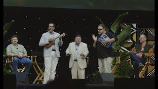 """Are you achin' to hear the story behind Timon & Pumbaa's luau in The Lion King? Ernie Sabella (voice of Pumbaa), Rob Minkoff (director), and Don Hahn (producer) reenact this hilarious scene for delighted D23 Expo fans.The Lion King (2017)In-Home Release Date:Available on Digital & Disney Movies Anywhere Aug 15http://di.sn/60048SuW4, and on Blu-ray™ Aug 29!http://di.sn/60038qNCNSynopsis:The Lion KingRoars To Its Rightful Place In The Walt Disney Signature Collection. Celebrate the glory ofThe Lion Kingas this magnificent coming-of-age masterpiece takes its rightful place as the reigning star of the acclaimed Walt Disney Signature Collection! With humor and heart, breathtaking animation, soul-stirring Academy Award®–winning music*, and revealing new Bonus Extras, this much-beloved story transports you to the Pride Lands and inspires generations of fans to find their places in the """"Circle Of Life"""". Create memories that will transcend time with Disney'sThe Lion King—a treasured classic that belongs in every family's collection!For more on The Lion King, visit:Official Website:http://movies.disney.com/the-lion-kingFacebook: Scar:https://www.facebook.com/TheLionKingScar/Simba:https://www.facebook.com/TheLionKingSimba/Mufasa:https://www.facebook.com/TheLionKingMufasa/Timon and Pumbaa:https://www.facebook.com/TimonandPumbaa/Nala:https://www.facebook.com/TheLionKingNala/Rafiki:https://www.facebook.com/TheLionKingRafiki/"""