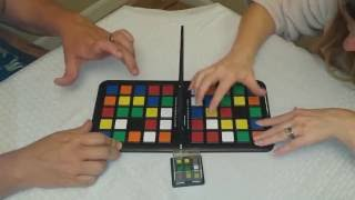 Board Games In Action: Rubik's Race