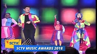 Video Jaz ft Fatin Shidqia - Teman Bahagia & Shot Me Now | SCTV Music Awards 2018 MP3, 3GP, MP4, WEBM, AVI, FLV Oktober 2018