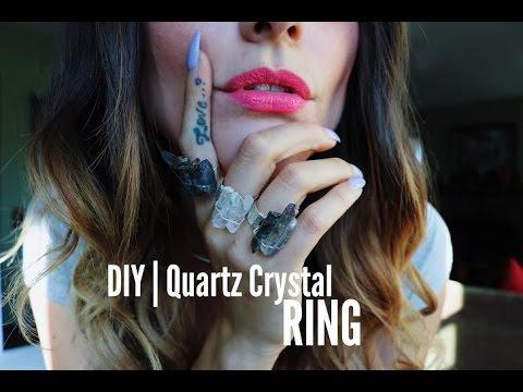 DIY | Quartz Crystal Ring