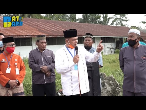 peletakan batu pertama masjid HUSNUL KHOTIMAH, Kec. Tanjung Tiram, Kab. Batu Bara 05 Juni 2020