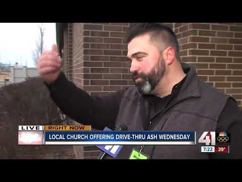 Local church offers drive-thru ash for Ash Wednesday