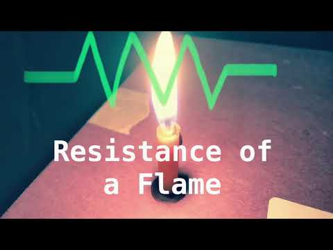 Measuring the Resistance of a Flame with a Multimeter