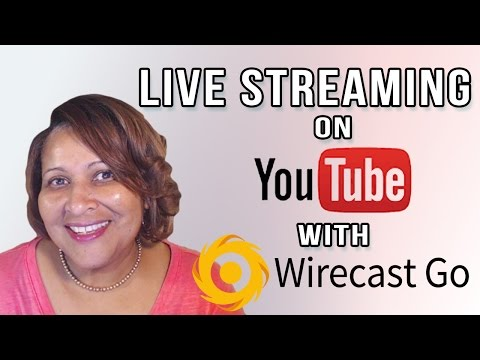 Watch 'Live Streaming to YouTube with Wirecast Go iOS App'