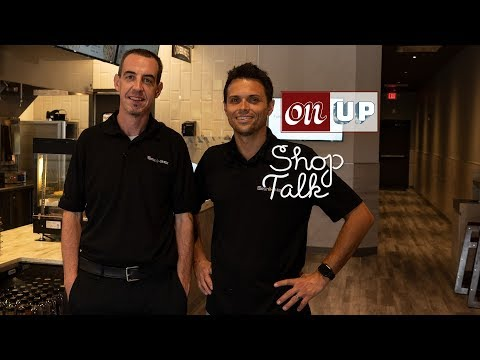 Brian McNamee and Justin Sherrock of The Simple Greek   Shop Talk   OnUp Media