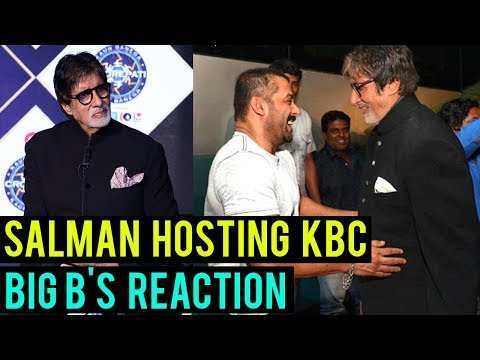 Amitabh Bachchan Wants Salman Khan To Host Kaun Ba