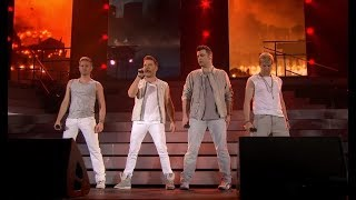 Westlife - When You're Looking Like That (Live 2012) 4K Ultra HD