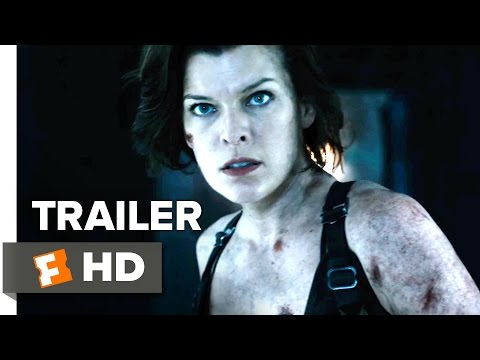 Resident Evil: The Final Chapter Official International Trailer 2 (2017) - Milla Jovovich Movie