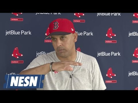 Video: Alex Cora Red Sox Spring Training Press Conference (02/18)