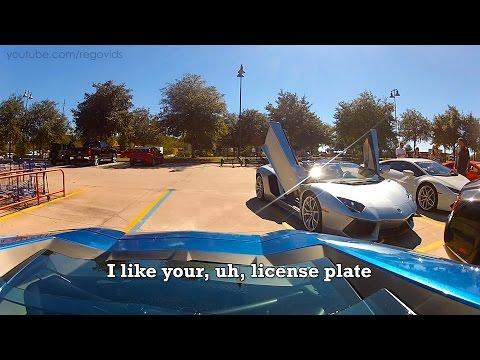 覺得開藍寶堅尼很拉風嘛!?讓你看看車主平常受到的眼神霸凌!