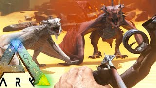 ARK: Scorched Earth - ALPHA WYVERN SLAYING, POISON TALONS #8 (Scorched Earth Map Gameplay)