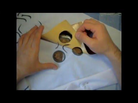 Как сделать трафаретную печать