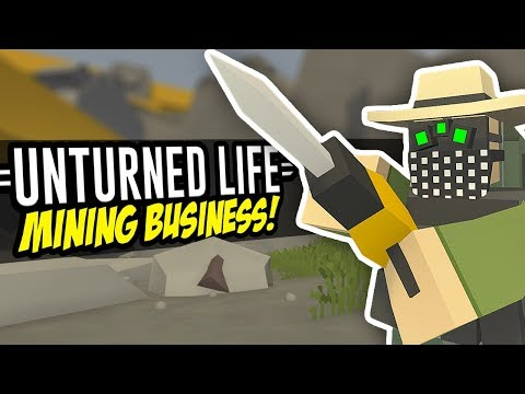MINING BUSINESS - Unturned Life Roleplay #58