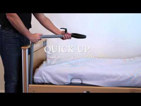 Quick-Up uppresningsstöd - montering