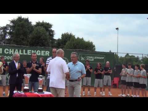 ATP Challenger Padova 2014 - Premiazione finale