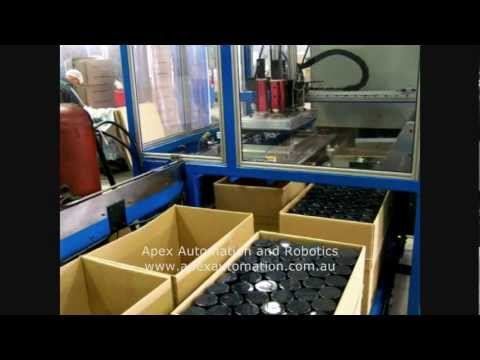 APEX Automation Aerosol Packers
