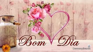 Mensagens para whatsapp - Linda Mensagem de BOM DIA - O TEMPO É HOJE - para whatsapp, facebook