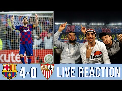 LAHOZ STEALS THE SHOW IN BARÇA'S VICTORY! | REACTION - REACCIONES