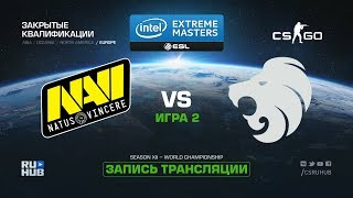 Na`Vi vs North - IEM Katowice Qual EU - map2 - de_mirage [CrystalMay, Enkanis]