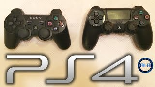 PS4 Controller vs PS3! - Playstation 4 Dualshock 4 Controller Features! - (Sony Console 2013 HD)