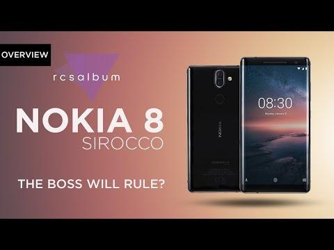 Nokia 8 Sirocco official | Best Smartphone? | Bengali | Rcsalbum | 2018