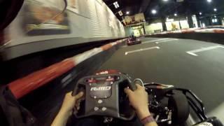 Nach längerer Zeit fahre ich mal wieder die Kartbahn am Nürburgring. Sie macht jedes mal Spaß zu fahren!