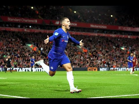 Eden Hazard Amazing Solo Goal Vs Liverpool Carabao Cup 26th Sep 2018 HD