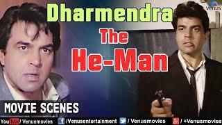 Dharmendra The HeMan  Action Scenes  Hindi Action Movies  Movie Scene Jukebox