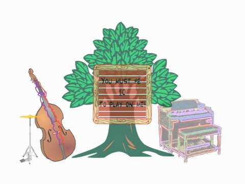 math Lied: die Zugabe von 9 + 1 (Schild an einem Baum) + Lyrics