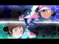 Pokemon XYZ Latino - Ash vs Tomo Liga Kalos ( OST Original)