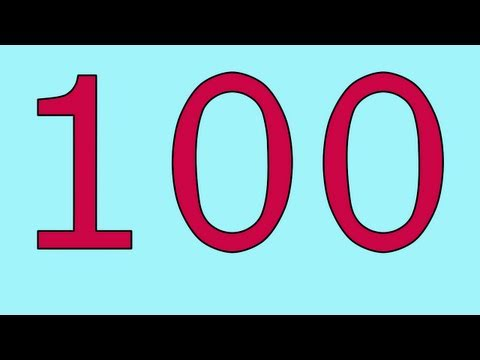 100's! - It's a numbers song for children and adults. Count from 0 to 100 and from a hundred to a trillion. This song was written and performed by A.J. Jenkins. Video...