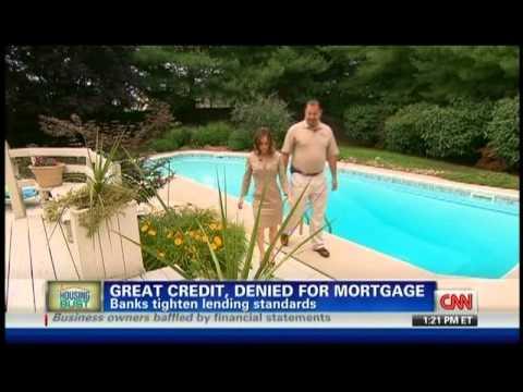 CNN-Mortgage denied despite perfect credit