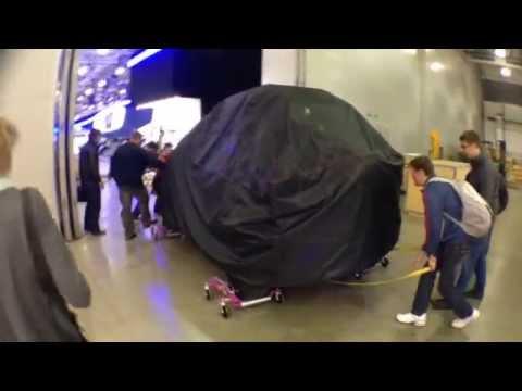 Шпионское видео концепта Chevrolet Нива