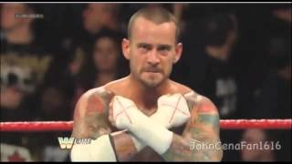 CM Punk beats Sheamus,Big Show,and Randy Orton in a fatal 4 way to face Undertaker at Wrestlemania,it's like a contender but for breaking the streak (which punk isn't going to do) and R.I.P to Paul Bearer