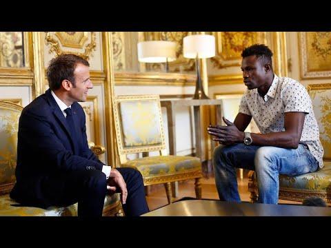 Nach Heldentat: Macron sagt Lebensretter Einbürgerung zu