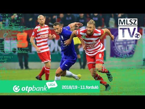 11. forduló: DVTK - Újpest 1-2 (0-0)