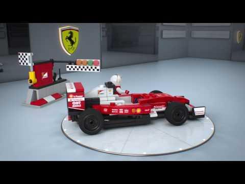 Конструктор Scuderia Ferrari SF16-H - LEGO SPEED CHAMPIONS - фото № 3