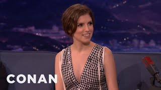 Anna Kendrick On Naked Selfies  - CONAN on TBS