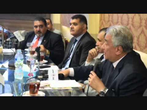 كلمة عاشور خلال افطار محامي اسكندرية