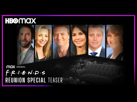 FRIENDS Reunion Special (2021) Teaser Trailer   HBO MAX