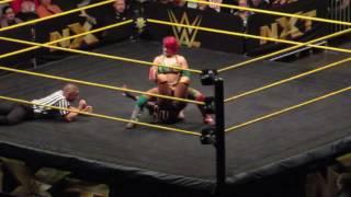 NXT Woman championshi: Asuka vs Ember Moon (9 18 16)