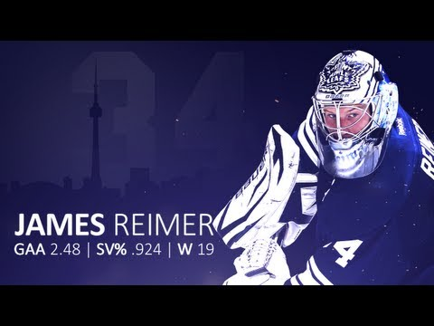 james reimer - James Reimer has his best season to date during the 2013 shortened season. Music: Hans Zimmer - An Ideal of Hope.