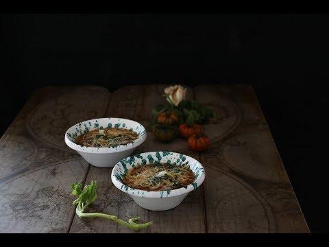 pasta con i tenerumi - ricetta siciliana