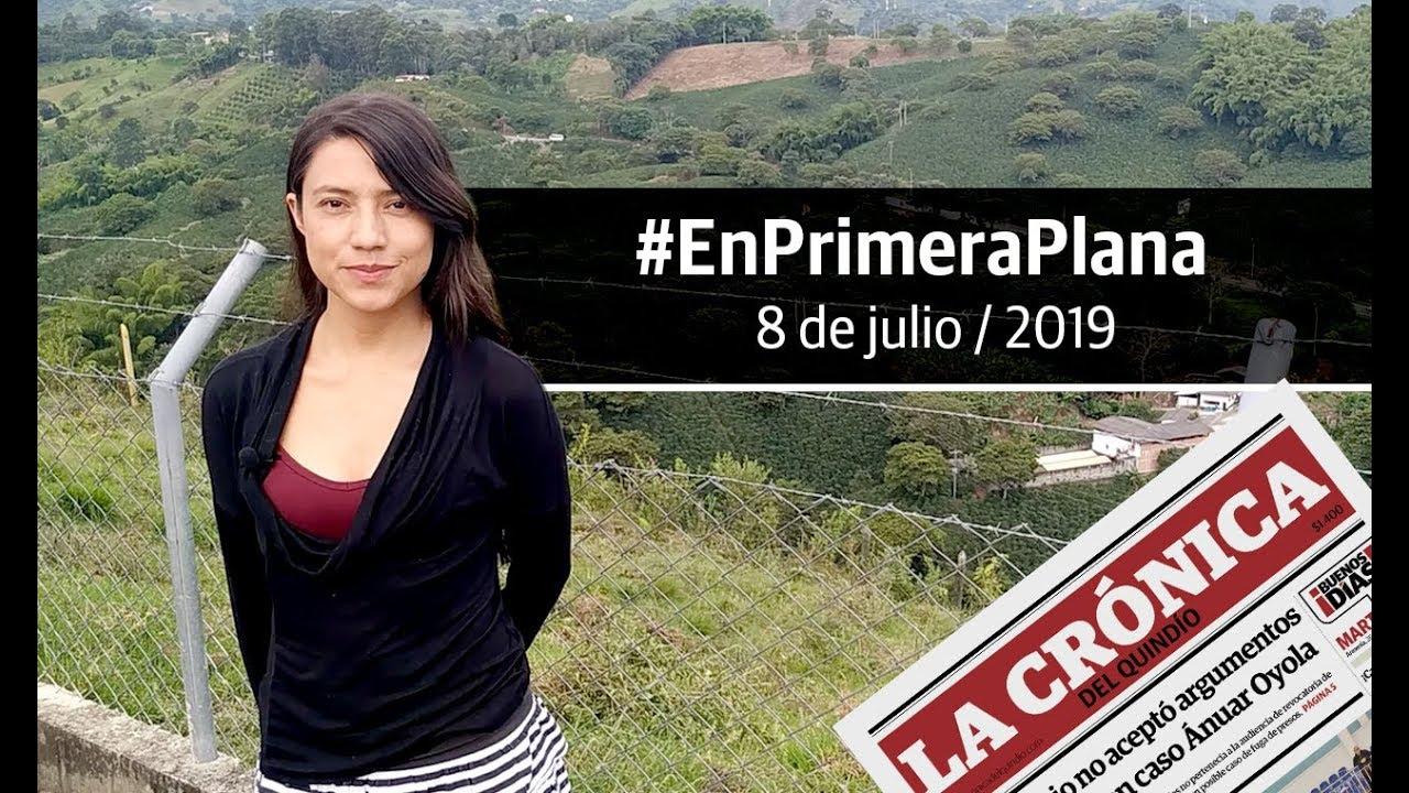 En Primera Plana: lo que será noticia este martes 8 de julio