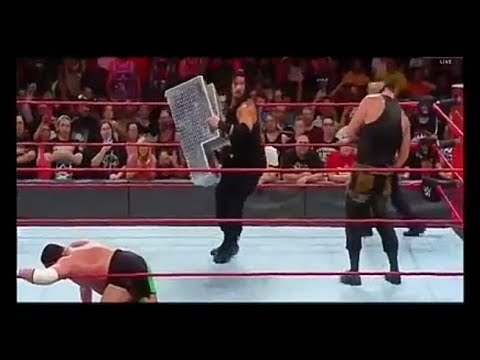 Full Match : Roman Reigns, Braun Strowman and Samoa Joe - Triple Threat Match | WWE RAW 31 July 2017