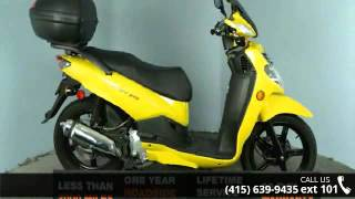 10. 2013 SYM HD200 Only 1304 Miles! - SF Moto - San Francisco...