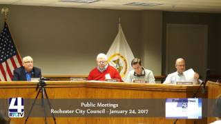 Rochester City Council Meeting