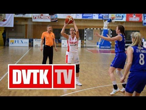 Női Kosárlabda NB I. A-csoport 22. forduló. Aluinvent DVTK - ZTE NKK