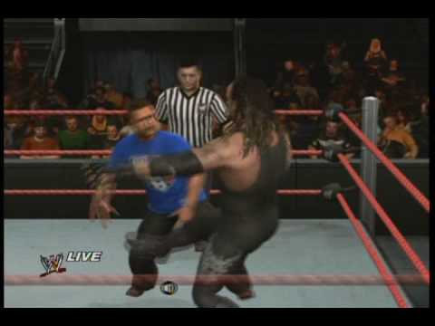Smackdown va RAW 2010:Total Blaze Vs Steve Sabo