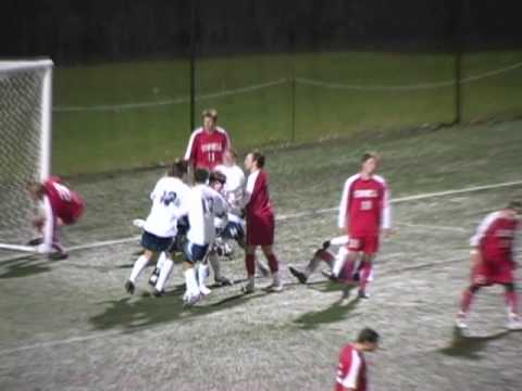 Video Highlights Oct. 18, 2009: Yale Men's Soccer vs Cornell
